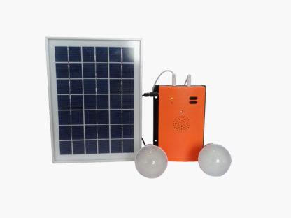 Solar Home Lighting Emergency System